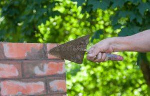 herstellen voegen schoorsteen renovatie